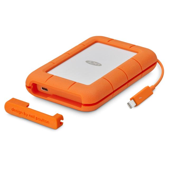 LaCie Rugged Thunderbolt / USB-C 3.0 1TB SSD 2.5 Zoll