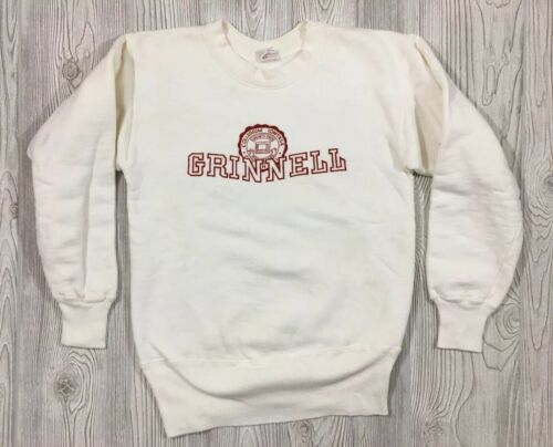 Vintage Champion Running Man Tag Crew Sweatshirt S