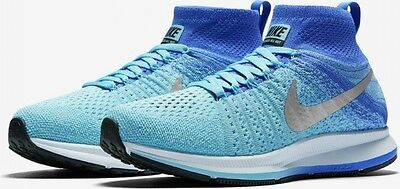 Nike Air Zoom Pegasus All Out Flyknit Older Kids Running Shoe Size 4 Verde