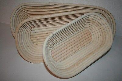 Gärkorb Gärkörbe Brotform Peddigrohr 0,5 -1,5kg oval Profiqualität made in DE