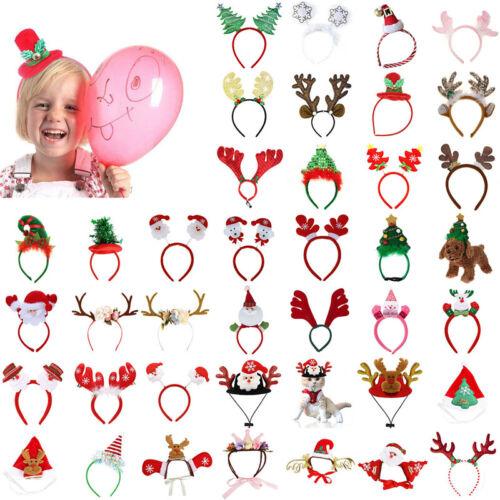 Christmas Headbands Reindeer Antler Headband Hair Band Xmas Party Decoration