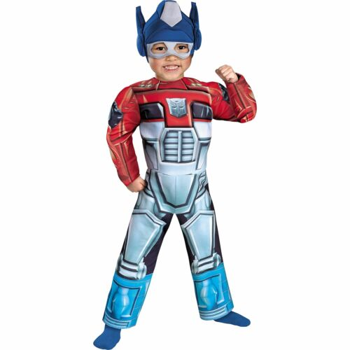 Transformers Rescue Bots Optimus Prime Muscle Costume for Toddler
