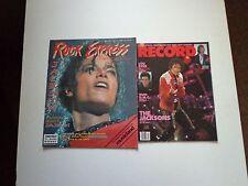 michael jackson rare magazine lot record and rock express