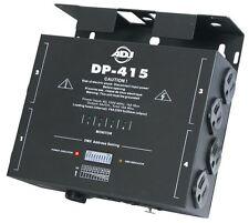 American DJ ADJ DP-415 4-Channel DMX 10 Position Dimmer/Switch Pack DP415