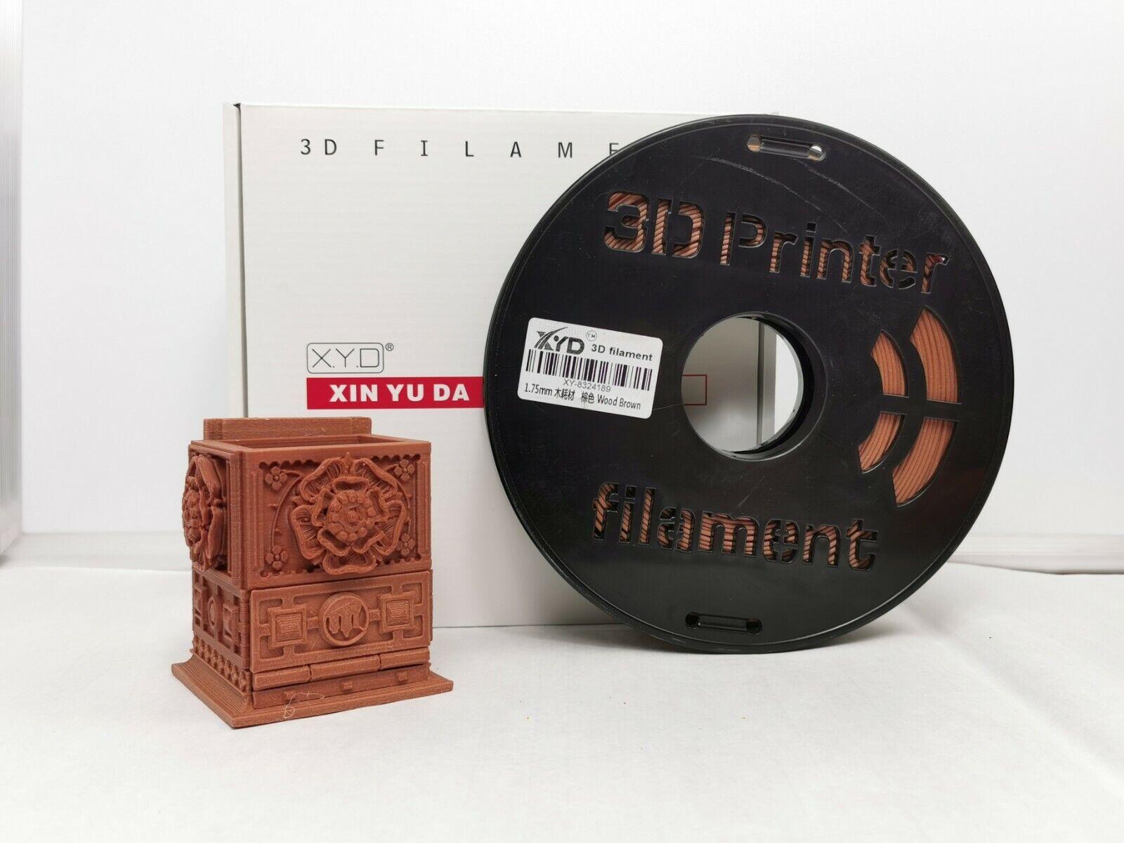 XYD 1.75mm 1kg Red Wood 3D printer filament