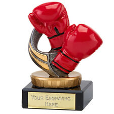 FLEXX CLASSIC BOXING TROPHY KICK BOXING AWARD 10cm FREE ENGRAVING 137A.FX044