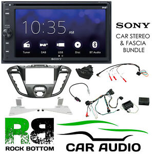Details about Ford Transit-Custom 2012-16 SONY Bluetooth DAB Car Stereo  Pegasus Kit CTKFD43C