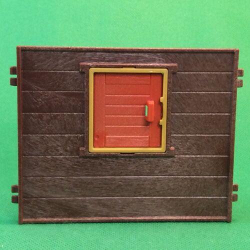 PLAYMOBIL Baumhaus pezzo di ricambio muro con finestre da 3217 #3-522