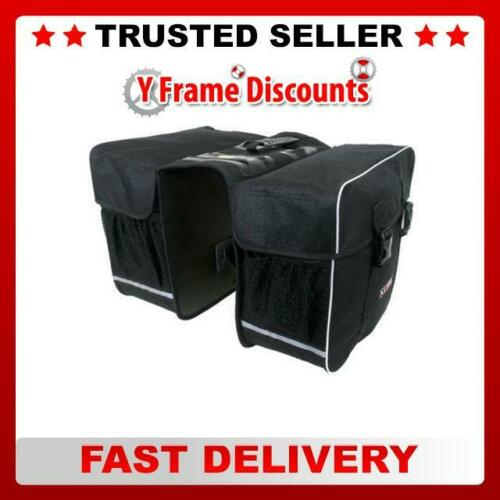 New M-Wave 600 Denier 30L Bicycle Double Pannier Bag