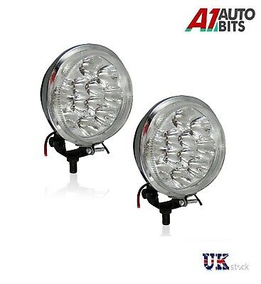 2x 12V Car SMD LED Daylights DRL POWERFUL FRONT BULL NUDGE BAR /& SPOT