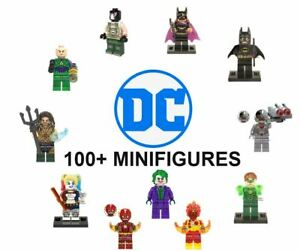 LEGO-DC-Minifigures-Marvel-DC-Batman-Superman-Justice-League-Joker-Flash-Lantern