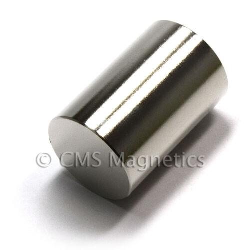 "1-pc CMS Magnetics® Super Strong N52 Neodymium Cylinder Magnet 1/""x 1-1//2/"""