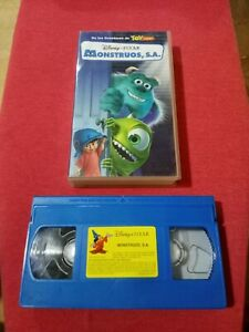 Monstruos-S-A-Pelicula-En-Cinta-VHS-usada