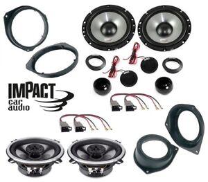 IMPACT Set 6 Arcas Fiat 500 Qubo Panda Punto 199 Alfa Mito Ford Ka Conn / Brkt