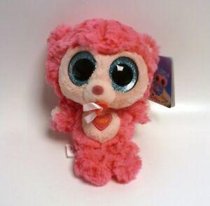 Depesche-8993-A-Ylvi-and-the-Minimoomis-Babymoomi-pink-Plueschtier-weich-Stimme