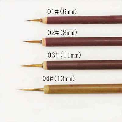 Nail Art Pen Brush Liner Painting Drawing Ongle Pen Tools 4 Sizes Selectable