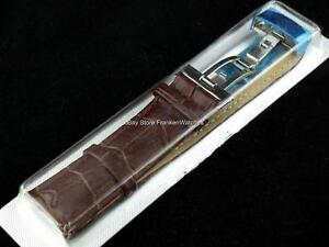 Brown-Leather-Band-Strap-Bracelet-Buckle-Clasp-Fits-Tissot-Watch-18mm-20mm-22mm