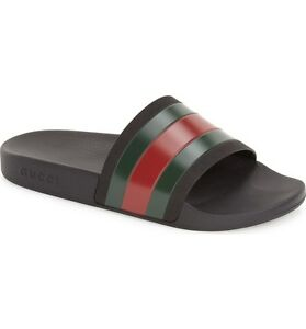 59286efdfdd6 Gucci Pursuit  72 Slides (Men) Size US 7-15 Sandals Flip Flops Slip ...