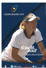 2002 MONTREAL  ROGERS CUP, WOMEN TENNIS CHAMPIONSHIP ADVERTISING PHOTO-CARD !!