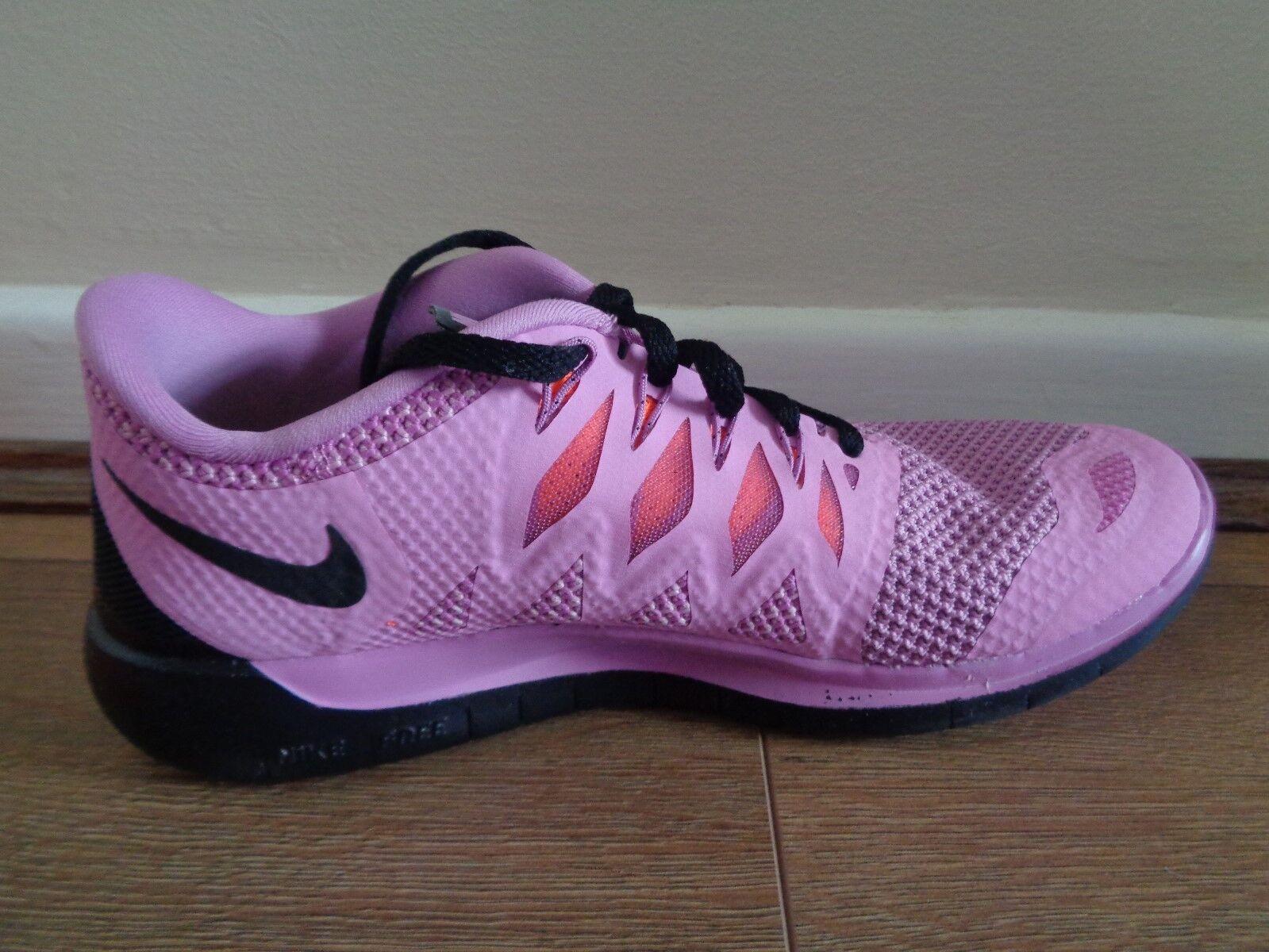 Nike Free 5.0 Linea Donna Scarpe Da Corsa Corsa Corsa Scarpe da ginnastica 642199 503 EU 38.5 US 7.5 NUOVE 323568