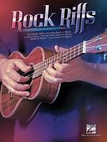 Rock Riffs Sheet Music For Ukulele With Tab Ukulele Book 000127602