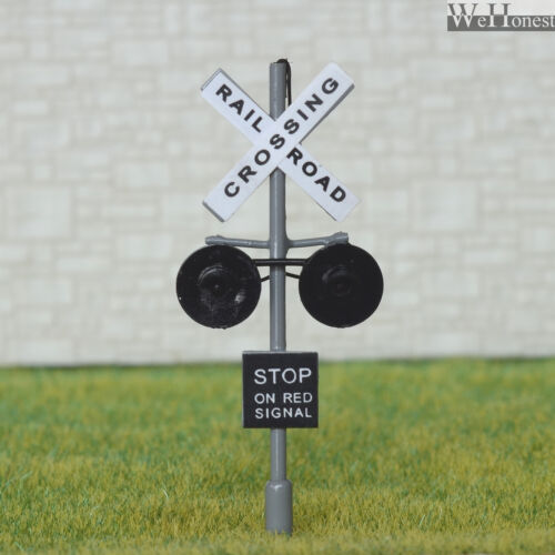 Circuit board flasher 1 x HO Scale Railroad Crossing Signals LED flashing