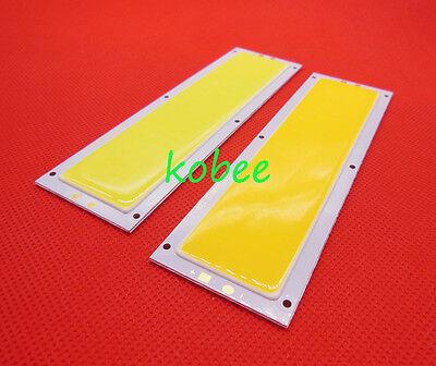 10W COB LED Panel Strip Lights 120x36MM DC 12V FOR DIY Warm/Cool White