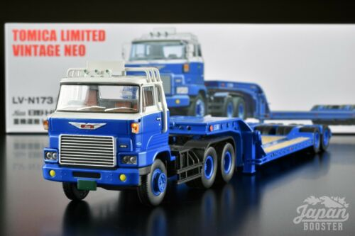 [TOMICA LIMITED VINTAGE NEO LV-N173a 1/64] HINO HH341 TRACTOR & TD302 TRAILER