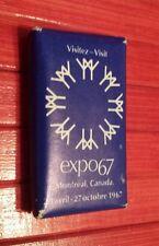 Vintage Montreal World Fair Expo 67 Terre des Hommes Bar Soap .