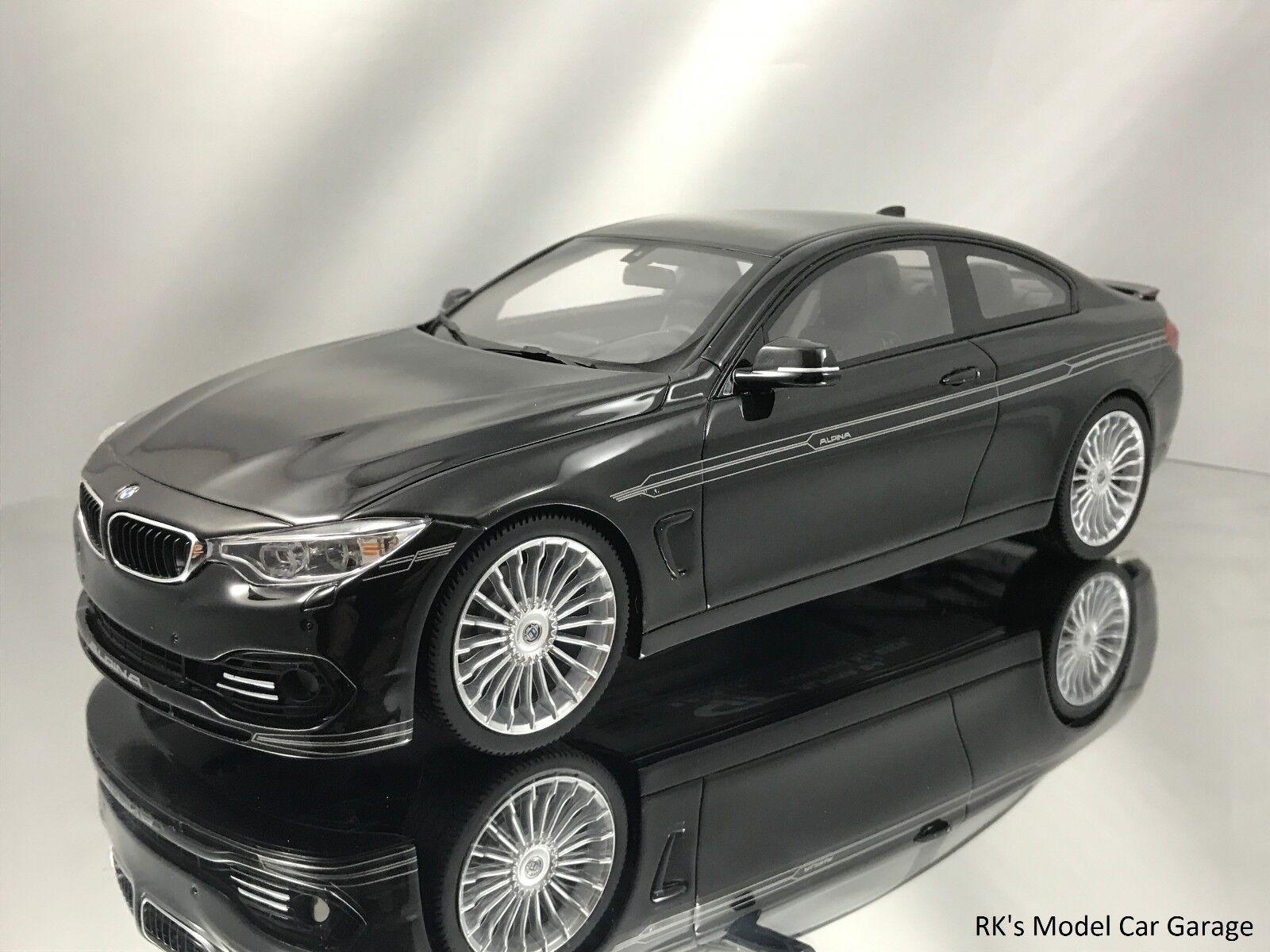 GT Spirit BMW ALPINA B4 Biturbo Coupe M4 basado en resina negra coche modelo