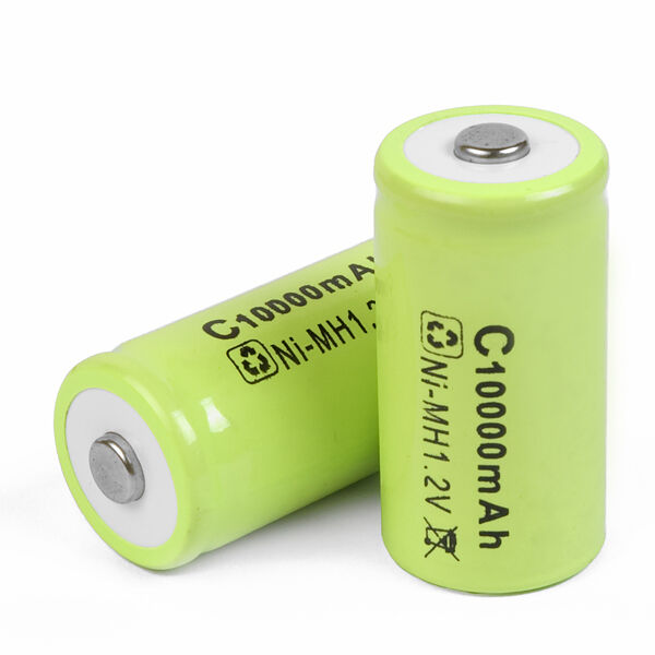 12x 10000mAh Ni-MH C Size 1.2v Rechargeable Battery Batteries Pack K202
