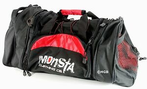 Image Is Loading MONSTA Clothing Pro Sport Large Embroidered Gym Duffle