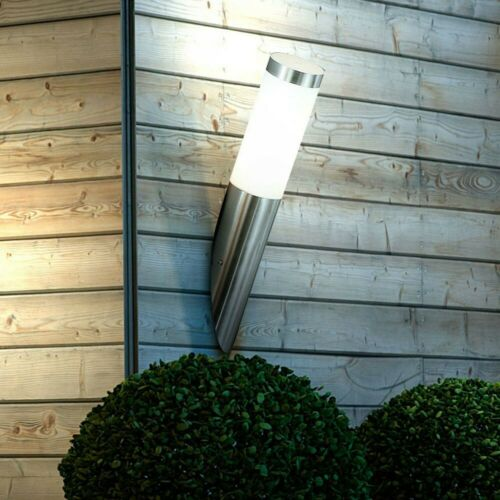 Boston en acier inoxydable Mur-Luminaire extérieur avec cylindre 40 cm murale éclairage extérieur