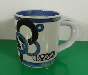 Royal-Copenhagen-1972-Annual-Mug-Small-Denmark-Blues-and-White-Fajance