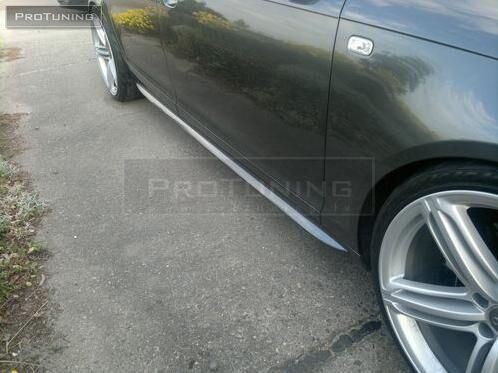 S LINE Bas de Caisse Latéraux pour Audi A6 4f C6 Jupes Latérales