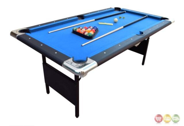 Carmelli NG Fairmont Portable Pool Table EBay - Carmelli pool table