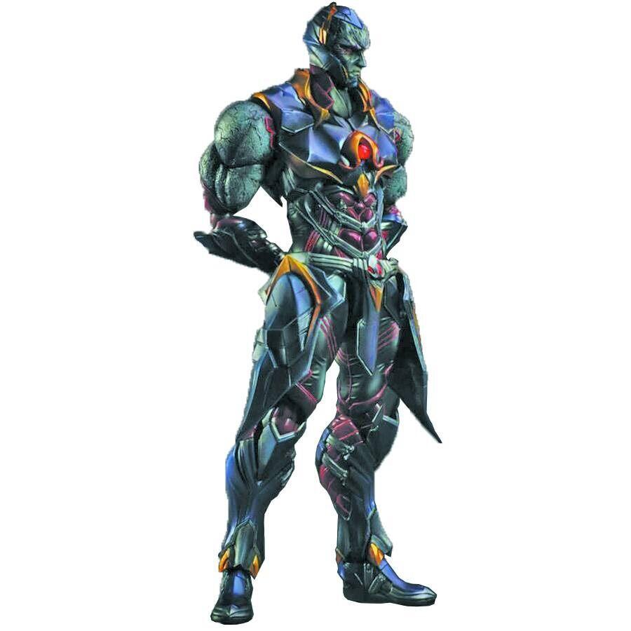 Darkseid DC Comics Jugar Arts Kai variante Cuadrado-ENIX  figura De Acción Sin Usar, En Caja