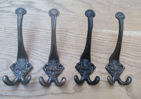100% Kwaliteit Ornate Triple Hook-decorative Vintage Victorian Style Hat And Coat Hook Hanging Grote Uitverkoop