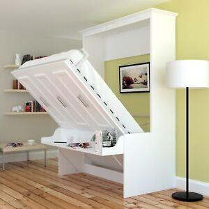 Urban Loft Alegra Queen Wall Bed, How To Add A Desk Murphy Bed