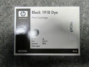 *NEW* Genuine HP Black 1918 Dye 42 ml Print Cartridge Q2344A