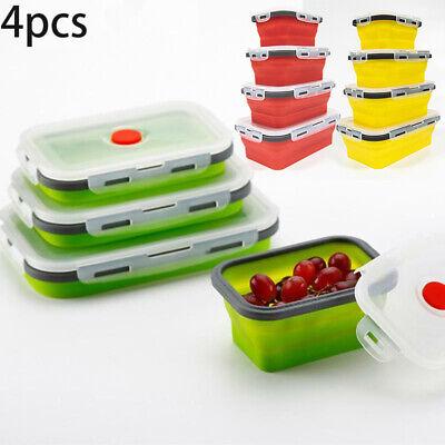 Faltbare Tragbare Schüssel Bento Boxen Faltbare Aufbewahrungsbehälter Lunchbox