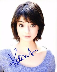 GFA-The-Big-Bang-Theory-Lucy-KATE-MICUCCI-Signed-8x10-Photo-MH1-COA