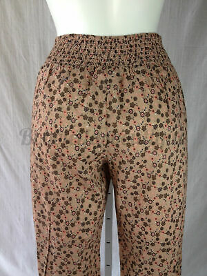 Brillante Bulk Buy 10 X Womens Ladies Girls Floral Patterned Casual Harem Trousers 8 - 14 Giada Bianca