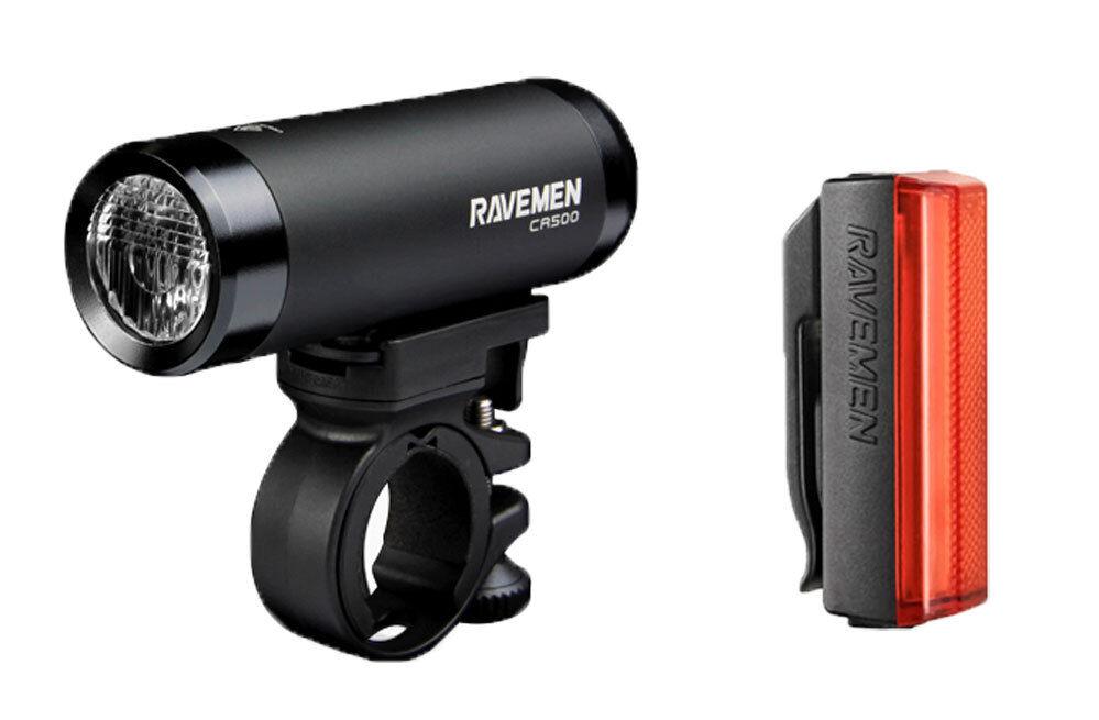 RAVEMEN CR500 LIGHT EARLIER THAN LED + TR20 REAR LIGHT