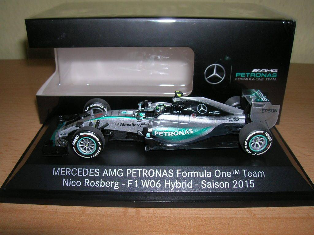 Minichamps Mercedes AMG PETRONAS Formel 1 Nico Rosberg Saison 2015  43