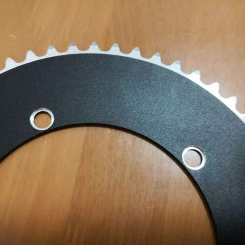 Fixed Gear BCD144 Chainring Fixie Track Bike 1//8 Chain 44t to 56T Single speed