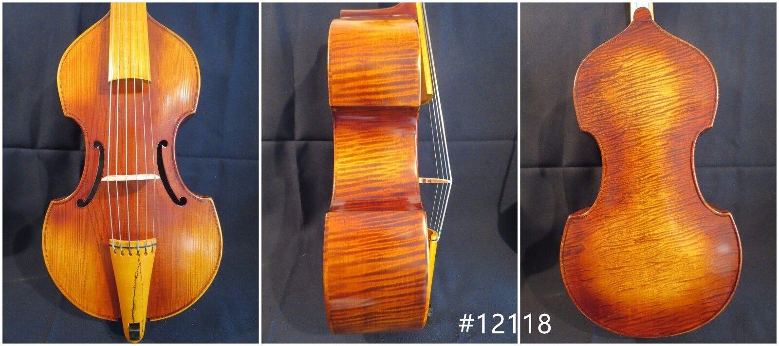 Hand made SONG Brand Maestro 6 strings 16  Trebles lila da gamba   12118