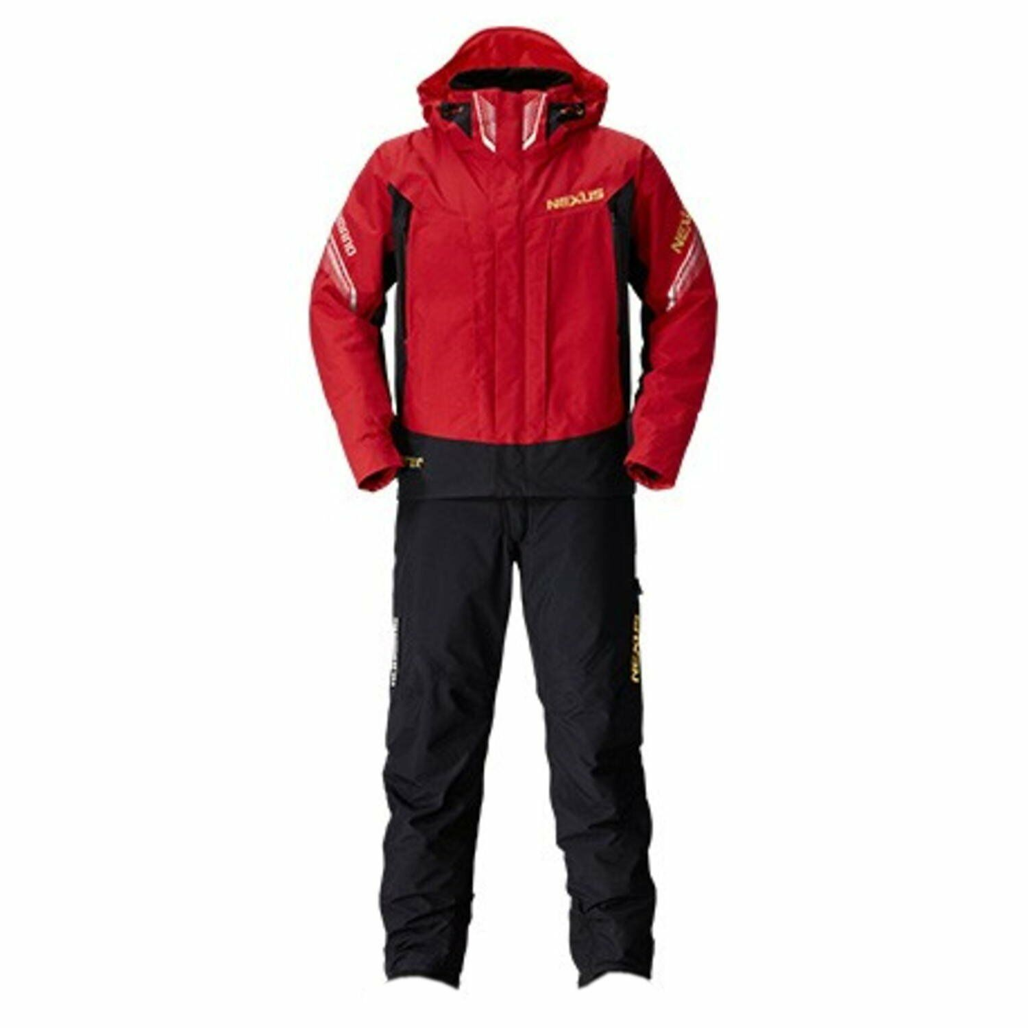 SHIMANO NEXUS GORE-TEX Cold Weather Suits RB-114P M L XL RED Fishing Japan NEW