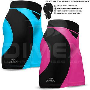 Nouveau-Femme-Cyclisme-Rembourre-Court-Anti-Bac-Coolmax-MTB-Cycle-Velo-Shorts-S-M-L