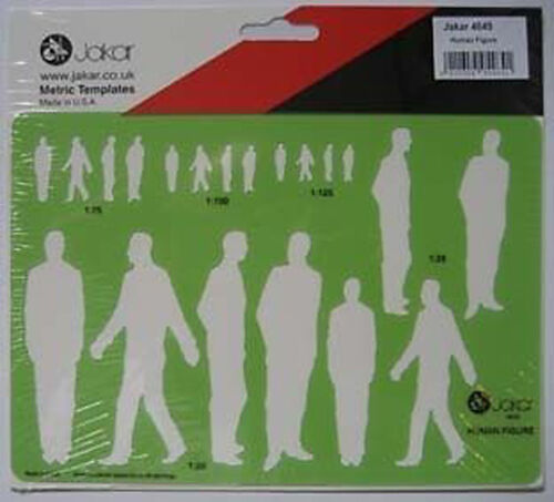 Jakar Template 4645 Human Figure //Male People Stencil